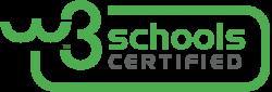 W3Schools Certificate