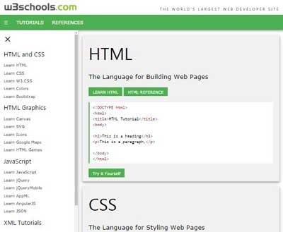 W3.CSS Demos