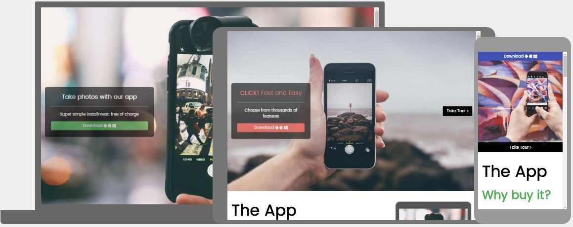 App Launch Template