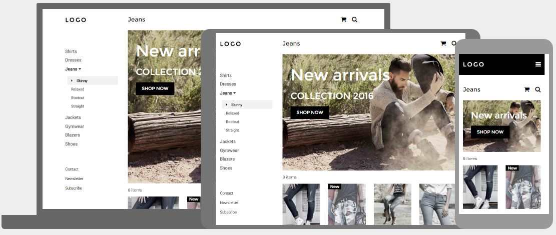 Clothing/Fashion StoreTemplate