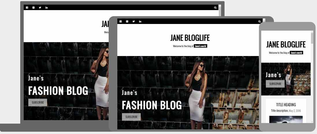 W3s templates fashion blog template maxwellsz