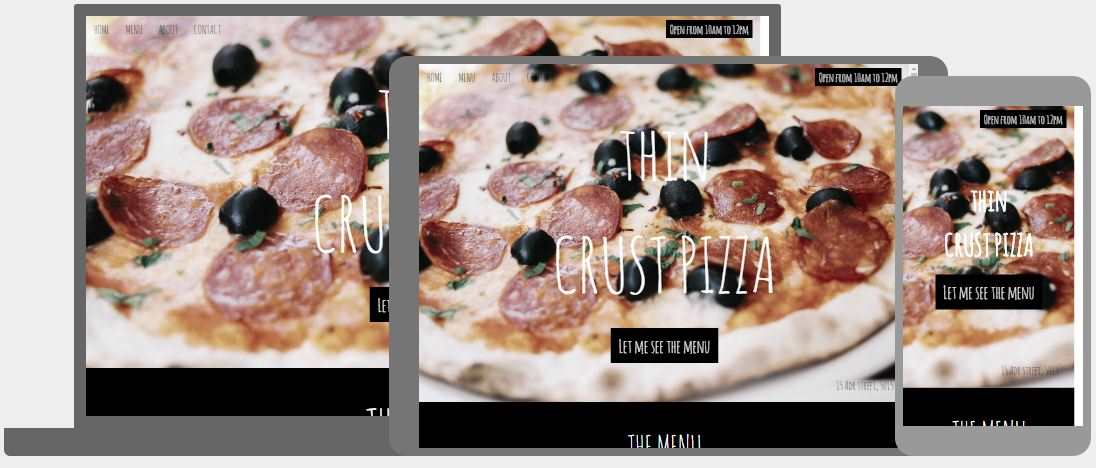 Pizza Restaurant Template