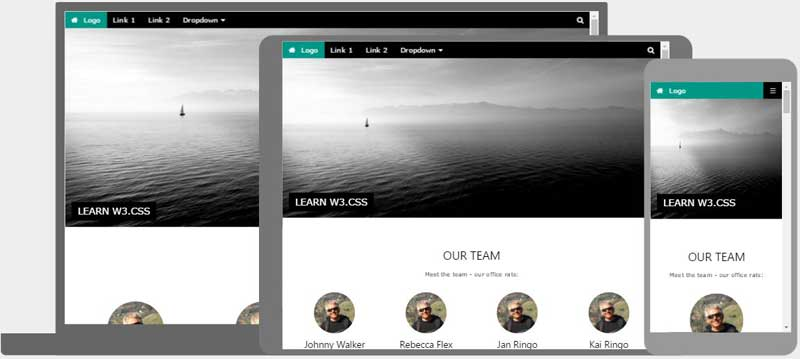 WCSS Templates - Html site template