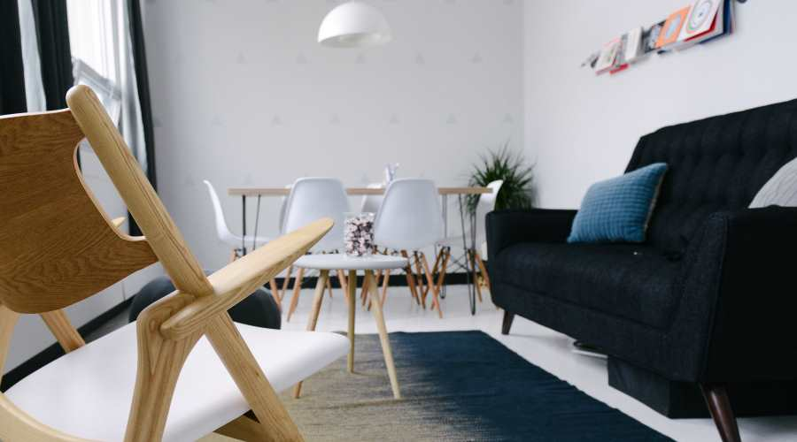 Light, white and tight scandinavian design