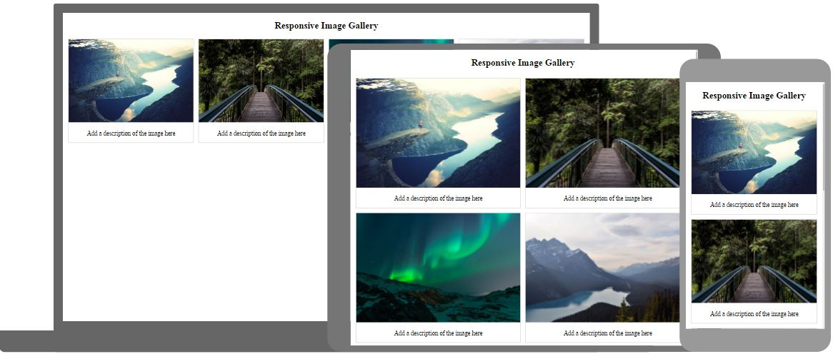 Css image gallery - Css div template ...