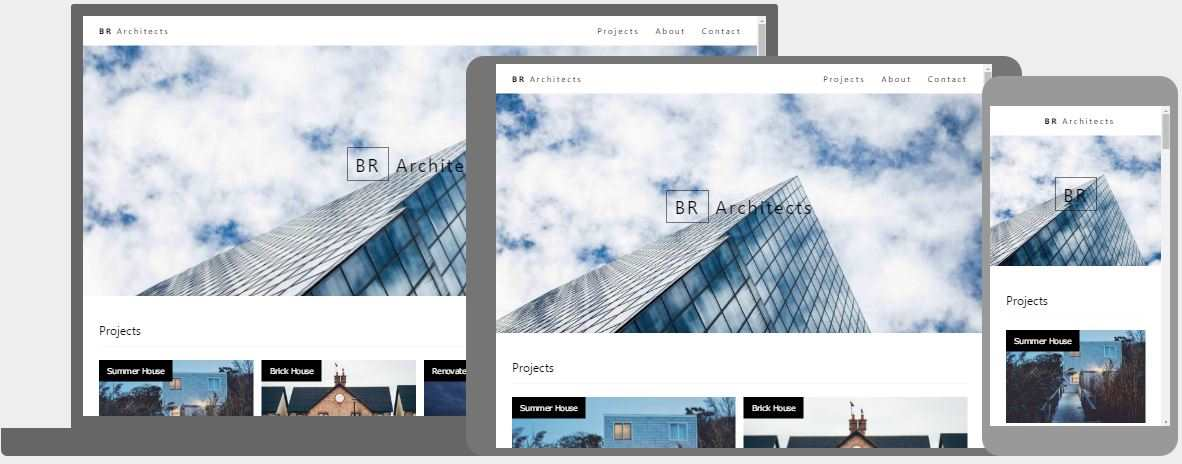Responsive Web Design Templates